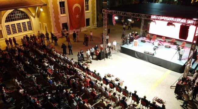 Adana'da 15 Temmuz demokrasi nöbeti tutuldu