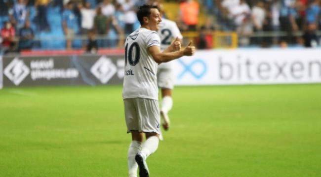 Adana Demirspor-Fenerbahçe maçında ilk gol geldi