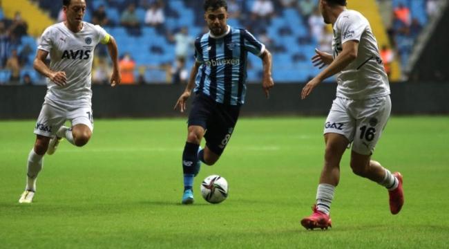 Adana Demirspor Fenerbahçe'ye tek golle mağlup oldu