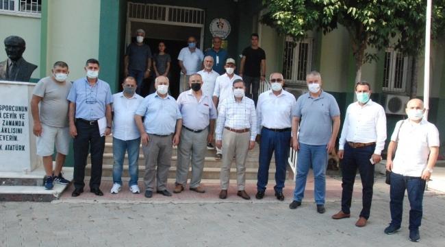 Adana Milletvekili Zenbilci'den Türk Güreş Eğitim Vakfı'na destek