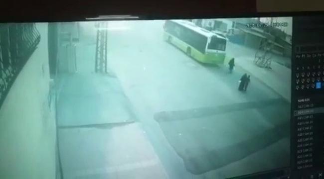 Otobüs çarpan çocuk hayatını kaybetti