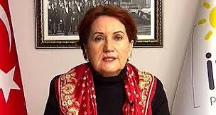 İYİ Parti Genel Bakşanı Meral Akşener hükümete yüklendi